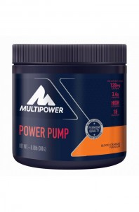 Multipower Power Pump 360g Dose Pulver Blood Orange