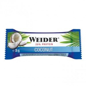 Weider Fitness Bar 35g Riegel Coconut