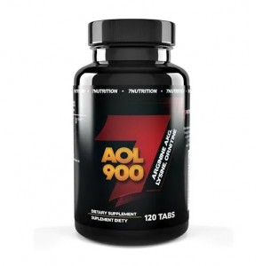 7Nutrition AOL 900, 120 Tabs, Arginin AKG, Lysin, Ornithin