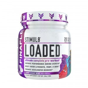 FINAFLEX Stimul 8 LOADED 280g Pulver Pre-Workout NITROSIGINE®, Mega Pump
