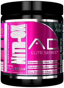 A.D. Elite Series Nitr-Ox 367,2g Pre-Workout, Super Pump!
