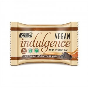 Applied Nutrition Indulgence Vegan 50g Riegel, High Protein mit Mega Crisp-Schicht!