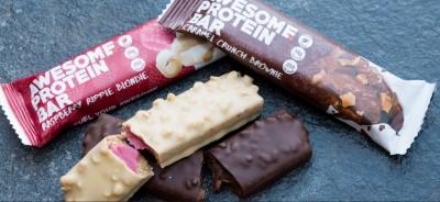 Awesome Protein Bar 60g, Veganer Protein Riegel bis 34% Protein