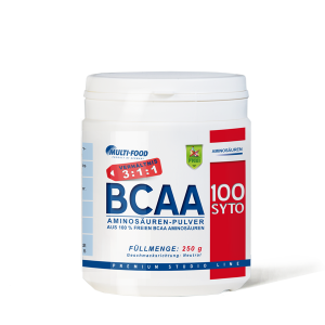 MULTI-FOOD  BCAA 100% rein 250g Pulver