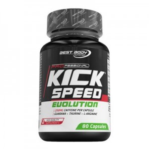 Best Body Nutrition Kick Speed Evolution Dose 80 Kapseln