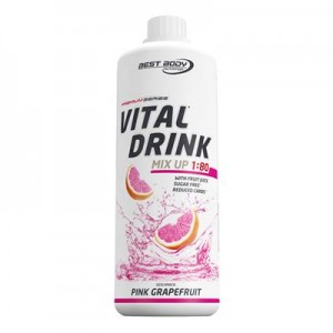 Best Body Nutrition Low Carb Vital Drink Pet 1000ml, viele Sorten!