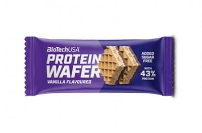 BioTechUSA Protein Wafer 35g Proteinwaffel (2 Stück) 43% Protein!