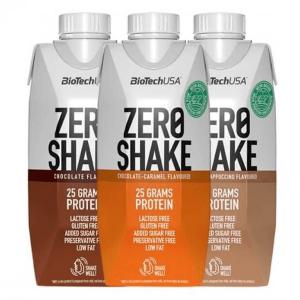 BiotechUSA Zero Shake 330ml RTD Tetrapack, Lactosefrei!