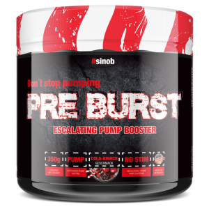 BlackLine 2.0 Pre Burst 350g Pump Booster