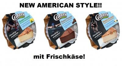 Cakees American Protein Cheesecake 450g, mit Frischkäse! BEST PROTEIN CAKE EVER!!