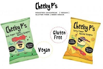 Cheeky P's Roasted Chickpees 50g geröstete Kichererbsen, vegan, high Protein!