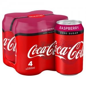 Coca Cola Zero Sugar Raspberry 330ml Sonderposten!