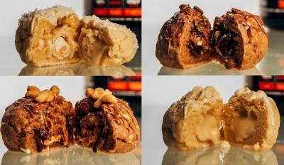Cookie Factory feat. #sinob Mucki Cookie 260g gefüllter Protein Cookie, 45g Protein!