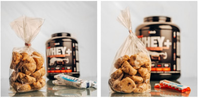 Cookie Factory feat. #sinob Protein Whey Bites 290g, Soft Cookies