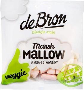 De Bron Marshmallows Vanilla & Strawberry 75g, Vegan