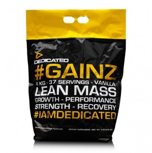 Dedicated Gainz 4 Kg Beutel Hafer Whey Milchproteinisolat