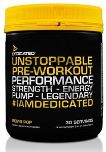 Dedicated Unstoppable 321g Pulver, Version 4.0, 30 Servings