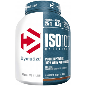 Dymatize Iso 100 2200g, Hydrolysat & Isolat