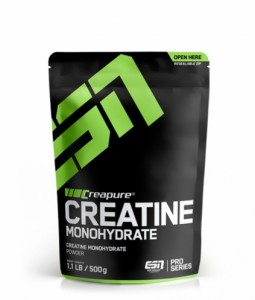 ESN Creapure Creatine Monohydrate 500g  ACHTUNG: Dose!