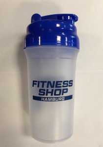 Fitness Shop Hamburg Shaker mit Klappdeckel 600 ml