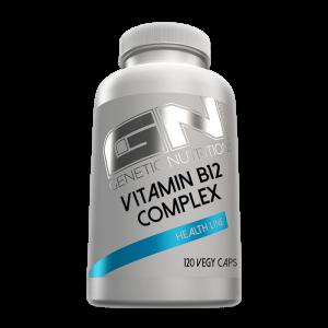 GN Laboratories Vitamin B12 Complex 120 Vegy Caps, + Folsäure
