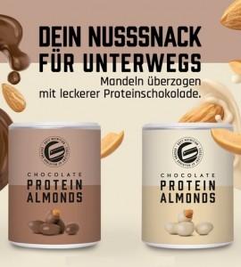 GOT7 Protein Almonds 85g, Mandeln mit Schokoüberzug
