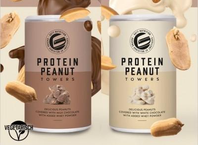 GOT7 Protein Peanut Towers 85g, Erdnüsse mit Schokoüberzug