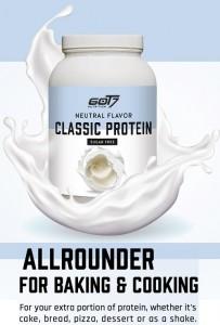 Got7 Classic Protein 1200g, Casein und Whey-Mix neutral, ideal zum Backen und Kochen