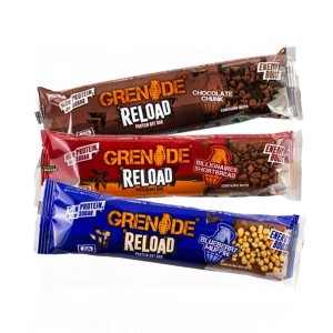 Grenade Carb Reload Protein Oat Bar 70g (2x35g), low sugar