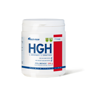 MULTI-FOOD HGH-Pulver Dose 250g Pulver Arginin-Ornithin