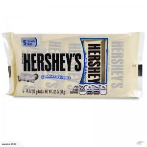 Hershey's Cookies 'N' Creme Candy 63g, 5 Mini Schokoladen