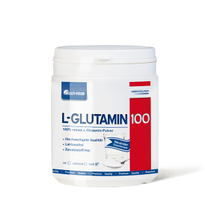 MULTI-FOOD  L-Glutamin 100% rein Dose 500g Pulver