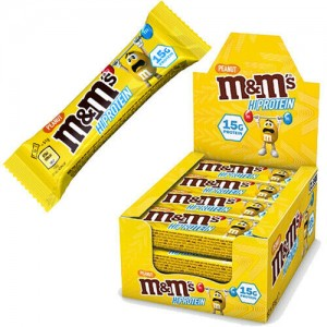M&M's High Protein Bar 51g Riegel mit Schokolinsen