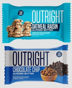MTS Nutrition Outright Bar 60g made from Almond Butter!