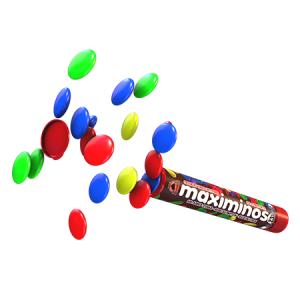 Max Protein Maximinos 23g, bunte Protein-Schokolinsen