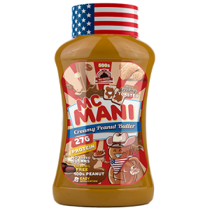 Max Protein Mc Mani Toasted Creamy Peanut Butter 500g, sehr soft
