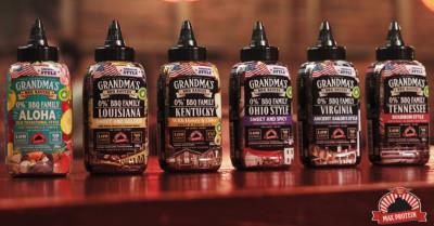 Max Protein The Original Grandma's BBQ Sauces 290ml