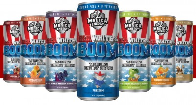 'Merica Energy Red, White, Boom 'Merica's Energy Drink 480ml