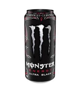 Monster Energy Drink Ultra Black 500ml Zero Sugar mit 150mg Koffein