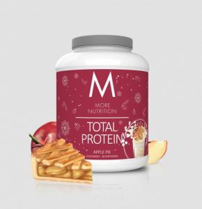 Sonderposten More Nutrition Total Protein 1500g, Whey & Casein Apple Pie  & Schoko Kokosriegel