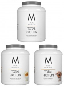 More Nutrition Total Protein 600g, Whey & Casein