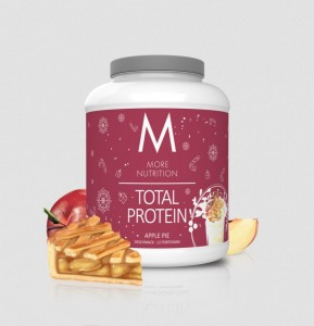 More Nutrition Total Protein 600g, Whey & Casein Sonderedition Apple Pie!