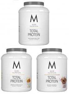 Sonderaktion! More Nutrition Total Protein 600g, Whey & Casein 2 SORTEN! statt 21,95€