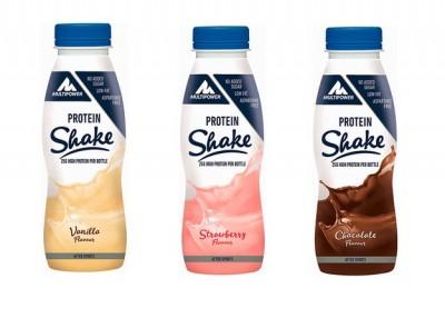 Multipower Protein Shake 330ml low Carb! 25g Protein, Sonderpreis! MHD 22.09.21! statt 2,49€!