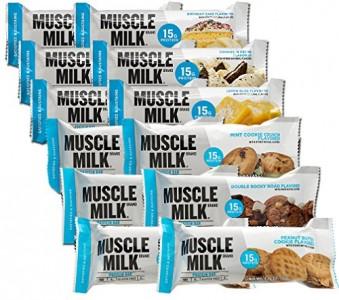 Muscle Milk Protein Bar 49-64g Riegel