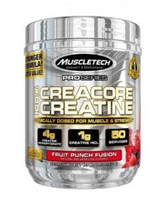 MuscleTech 100% Creacore Creatine 326g, Monohydrat & HCL!
