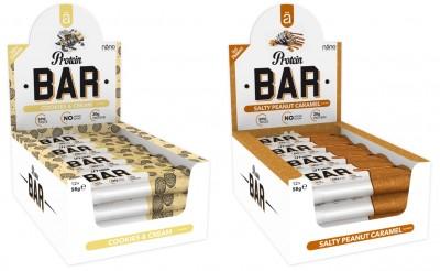 Näno Protein Bar 58g Riegel, mega Konsistenz und Geschmack