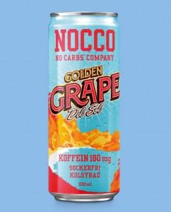 Nocco BCAA Drink 330ml mit Koffein Golden Grape Del Sol! LIMITED!