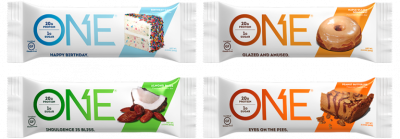 One Brands One Bar 60g Protein Riegel, 33% Protein low Sugar