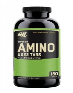 Optimum Nutrition Superior Amino Tabs 2222 160 Tabletten